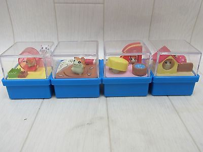 Tottoko Hamtaro Wind-up Toy Figure 4pcs Hamster Japan(DLSF1 in Collectibles, Animation Art & Characters, Japanese, Anime | eBay!