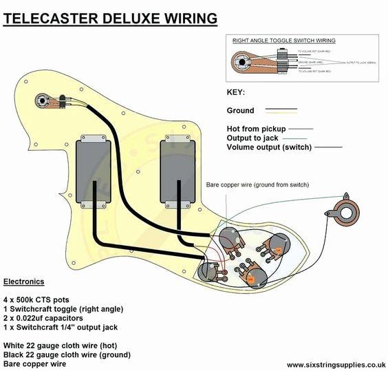 Telecaster Custom Wiring Diagram Telecaster Deluxe Telecaster Telecaster Custom