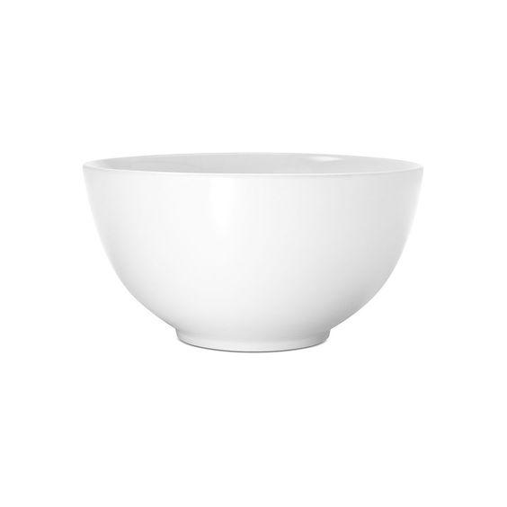 Salatschale LAVIE Porzellan weiß ca D:20 x H:11 cm