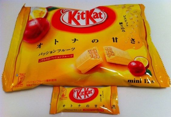 Limited Edition! Passion Fruit #KitKat Amazon:Grocery & Gourmet Food