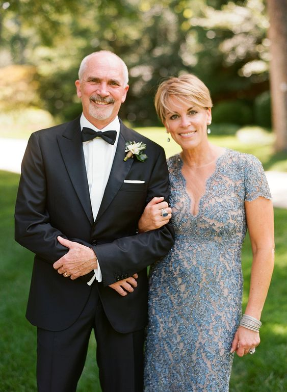 Mother-of-the-Bride Dresses That Wowed at Weddings