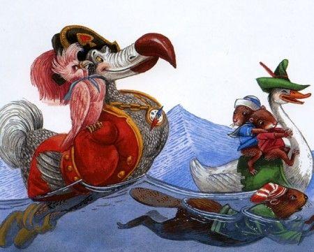Lewis Carroll's Alice in Wonderland illustrations by Maxim Mitrofanov,