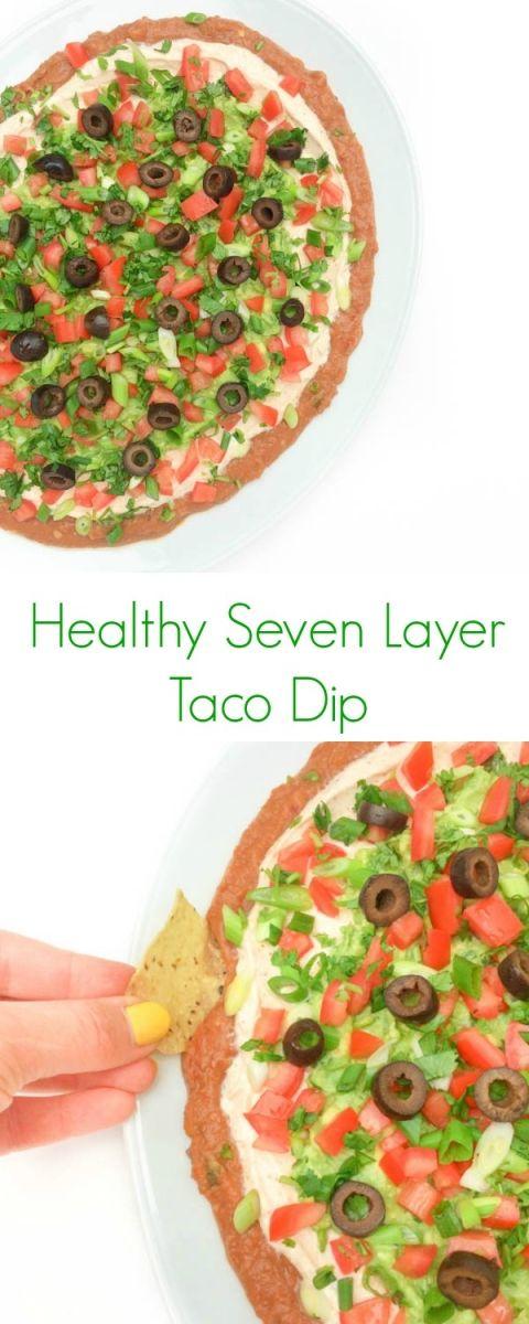 ... bean dip love the love recipe parties lemon seven layer taco dip beans