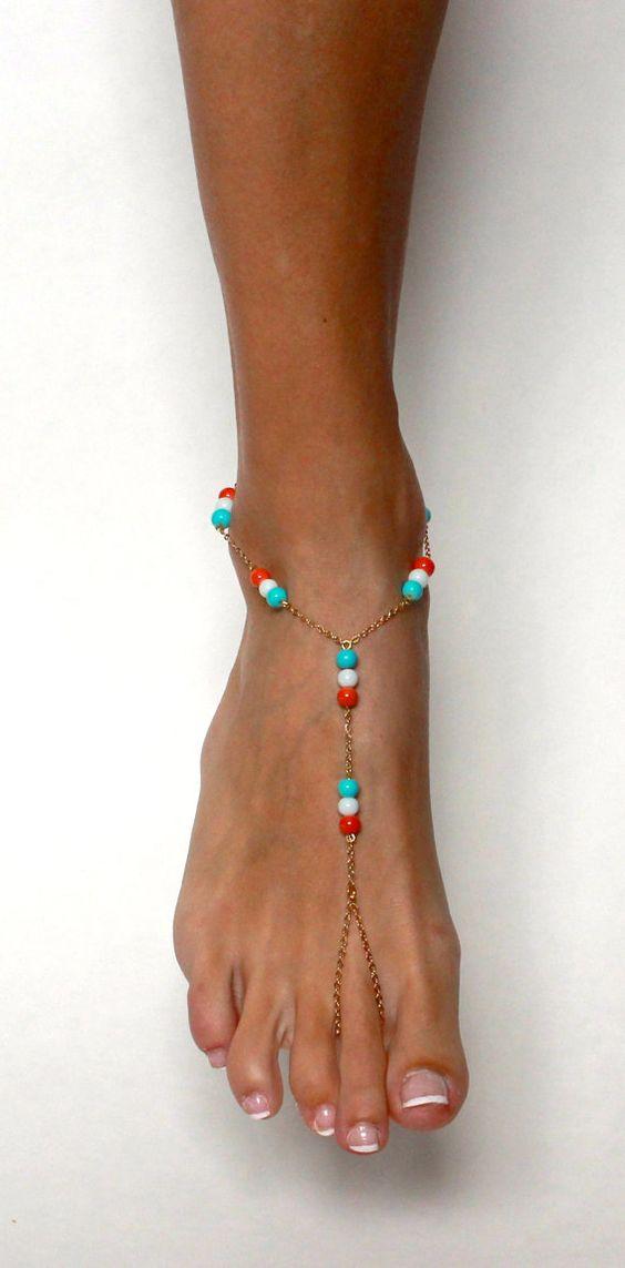 Bohemian Barefoot Sandals Boho BArefoot Sandals by BareSandals