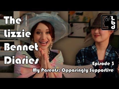 """The Lizzie Bennet Diaries"" Pride and Prejudice told through a modern day video blog!  BRILLIANT!!"
