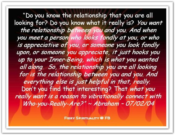 *Abraham-Hicks Quotes (AHQ1939) #relationship