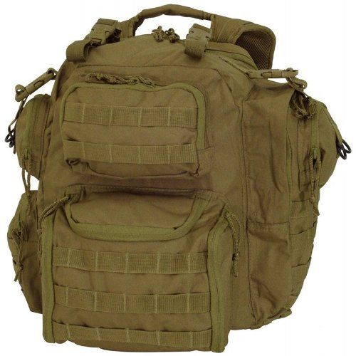 Voodoo Tactical Improved Matrix Pack Backpack MOLLE  Hydration Compatible  159032 Coyote Brown  Tan -- To view further for this item, visit the image link.