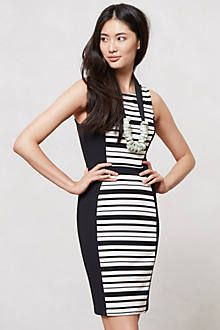 Spliced Pencil Dress