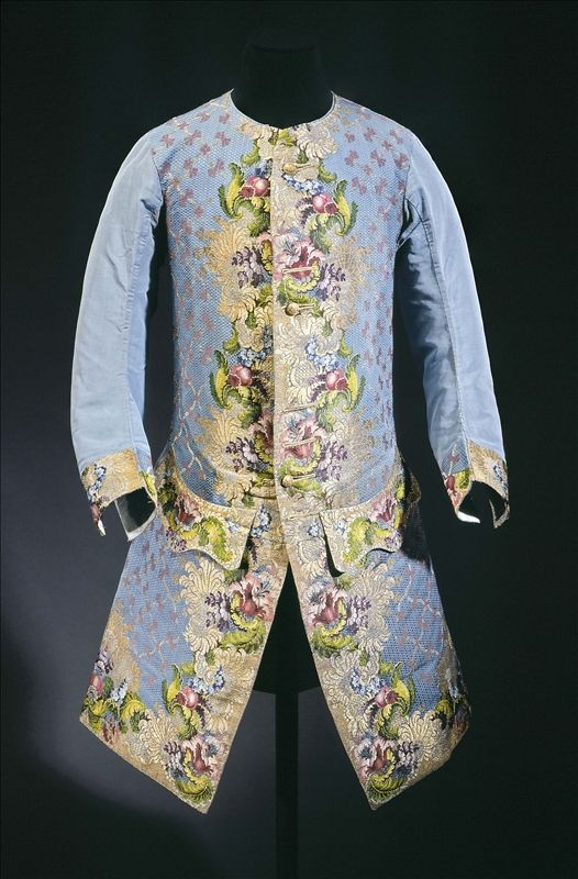 Waistcoat worn by Claude Lamoral II (1685–1766), Prince of Ligne and the Holy Empire He was the father of Charles-Joseph Lamoral (1735–1814), 7th Prince of Ligne, a friend of Marie Antoinette and a famous memoirist. Owners of a château at Beloeil, in what is now Belgium, the family was received in all the courts of Europe. - See more at: