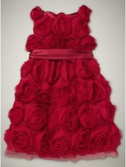tulle rose garden party dress