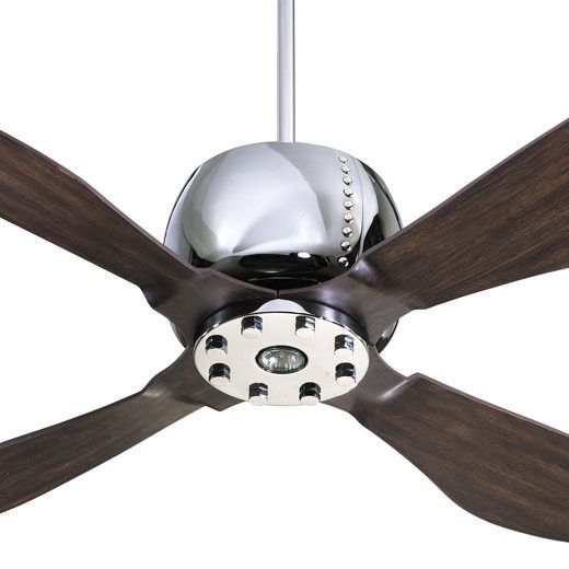 """Quorum 52"""" Elica 4 Blade Ceiling Fan with Remote"""