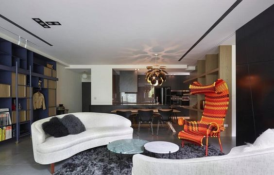 Beautiful apartment design with Modern style.... | Visit : roohome.com  #apartmentdesign #minimalist #modern #apartment #design #decoration #awesome #fabulous #great #gorgeous #fabulous #interior #creative #unique #simpledesign