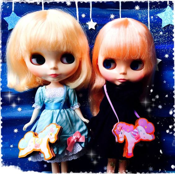 Blythe / Pullip Purses Angelic Pretty Carousel by SweetCrate