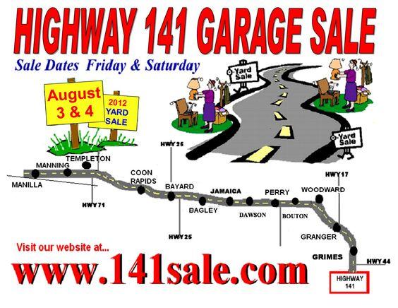 Hiway 141 Garage Sale