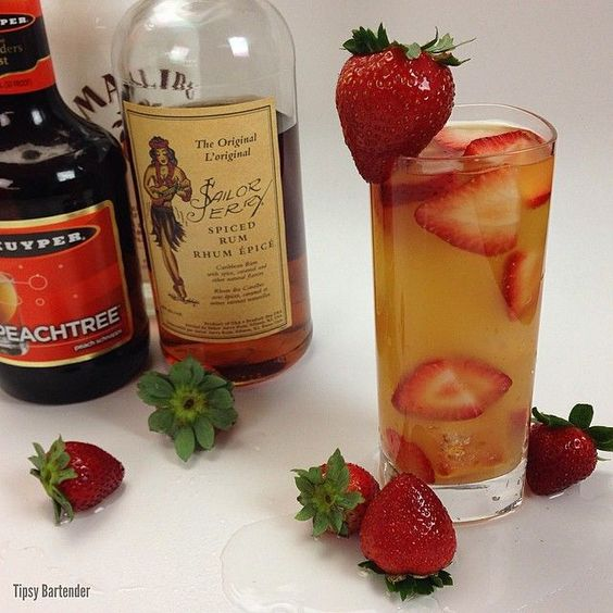 Schnapps coconut rum and cocktails on pinterest