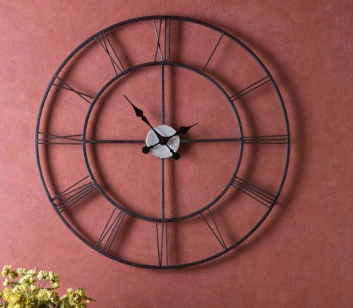 New-Fashion-Large-Oversized-30-WALL-CLOCK-Chryses-Home-Office-Room-Numbered-NEW