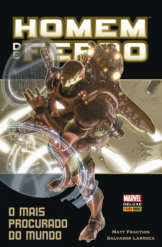 Homem de Ferro - O Mais Procurado do Mundo - Marvel Deluxe - MonsterBrain