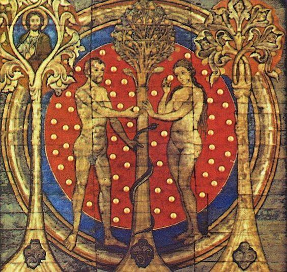 Adamo ed Eva e il serpente