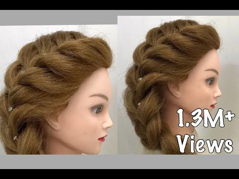 Side French Braid Easy Hairstyles Youtube Rope Braided Hairstyle Hair Styles Cool Braid Hairstyles