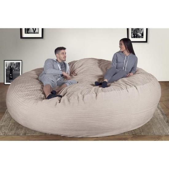 lounge pug pouf geant xxxl c2000 l