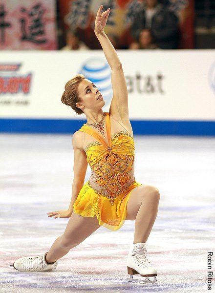Ashley Wagner(USA) : Skate America 2012