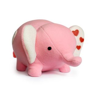 DIY Fluffies Love Elephant - Downloadable Pattern 9$  non è adorabile @Federica Baricolo