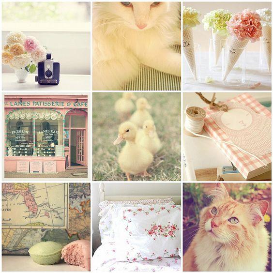 Pink Spring Collage: