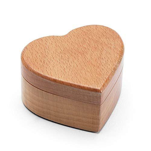 Xingzhe Marriage Ring Box Wedding Single Ring Wedding Wooden Storage Box Small Retro Portable Jewelry Box In 2020 Wedding Ring Box Wooden Ring Box Heart Shaped Jewelry