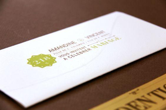 Golden Ticket - un mariage en chocolat - by Allons-y Alonso ! - design d'invitations & fun