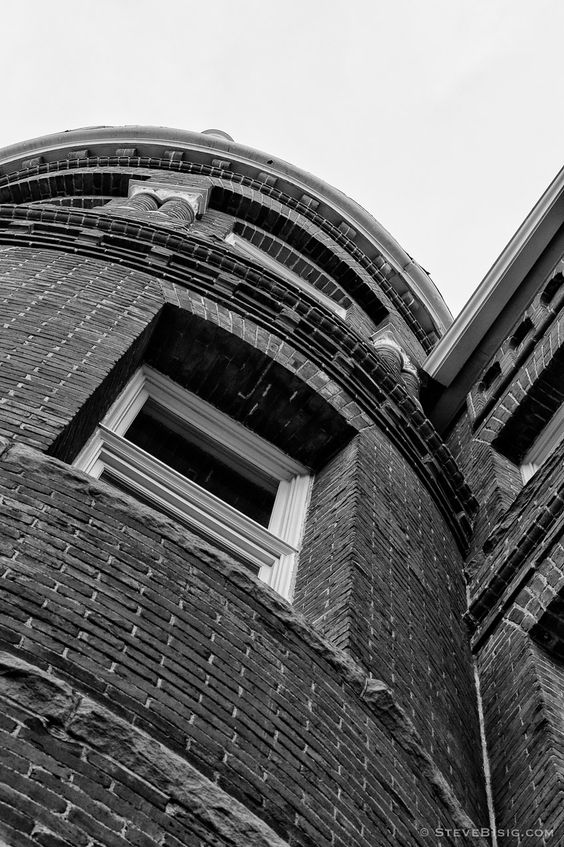 Barge Hall No. 7, Central Washington University, Ellensburg, Washington, 2012 | Click the picture above for information on purchasing a fine art photography wall print. | #urban #city #blackandwhite