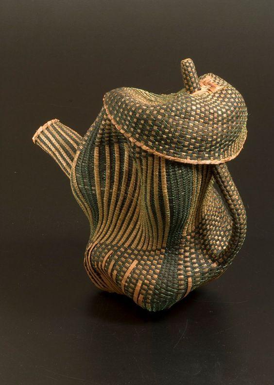 Tea pot by Polly Adams Sutton: