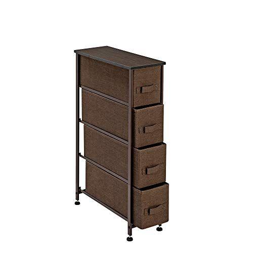 Narrow Dresser Storage Tower