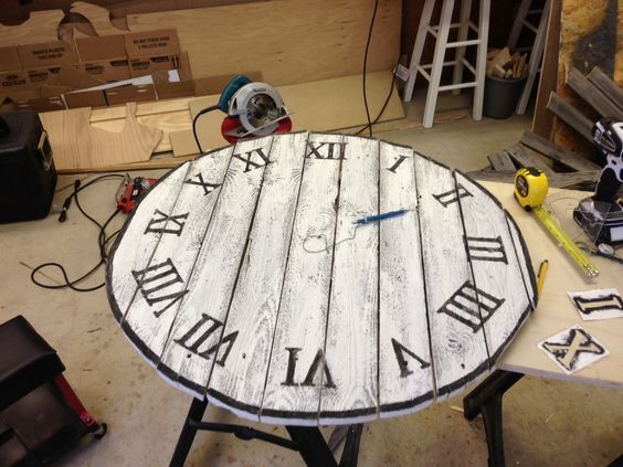 Wood Wall Clock Tutorial.