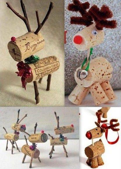 Faire des personnages de no l avec de la r cup noel - Activite manuelle decoration de noel ...