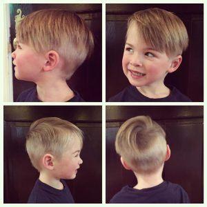 Jungen Frisur Frech