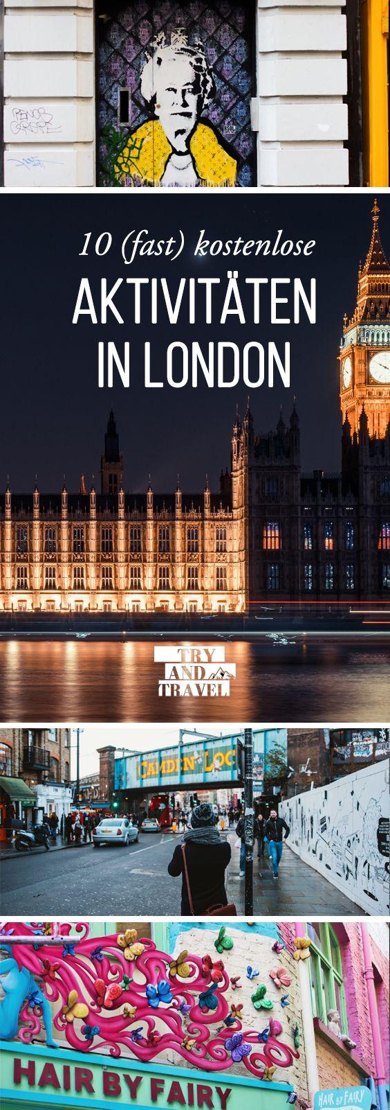 10 (fast) kostenlose Aktivitäten in London