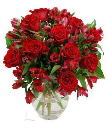red passion flower arrangements - Buscar con Google: