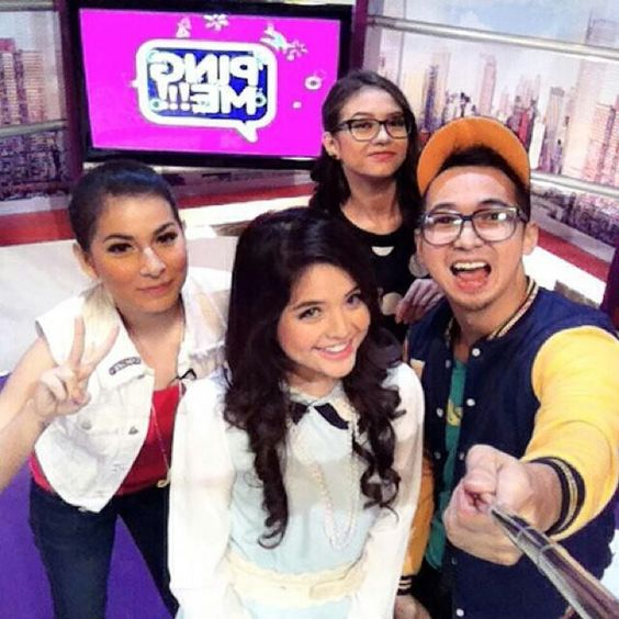 Yuki Kato with Deasy Bowman & Tasya Kamila in PingMe RTV