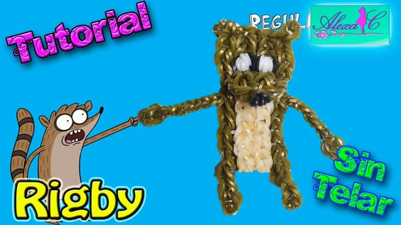♥ Tutorial: Rigby de gomitas (sin telar) ♥