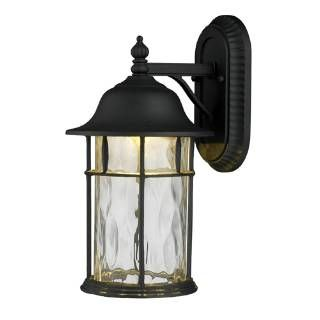 """Check out the Elk Lighting 42261-1 Lapuente 17""""H 1 Light Outdoor Wall Mount in Matte Black priced at $258.00 at Homeclick.com."""