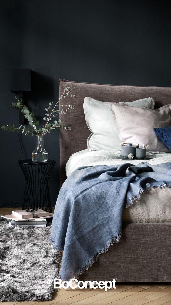 Inspiration für beruhigenden Schlaf Designbett mit extra