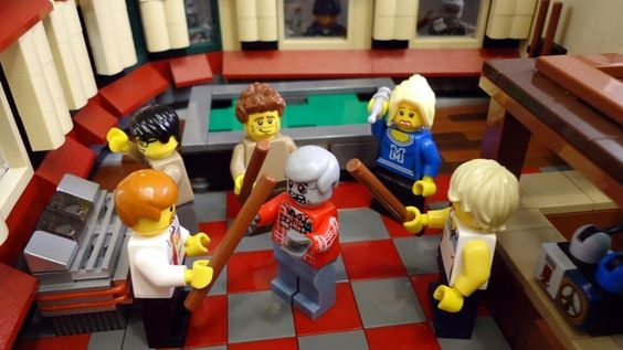 Shaun of The Dead LEGO set - now has enough support to go into production