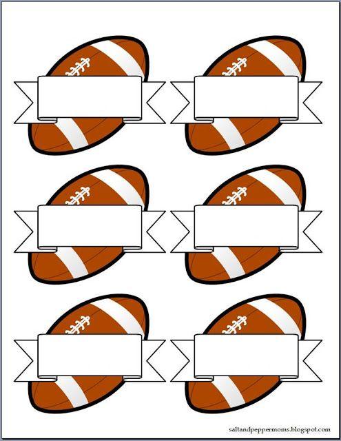 Salt and Pepper Moms Football Snack Tag Printables Free - bag tag template