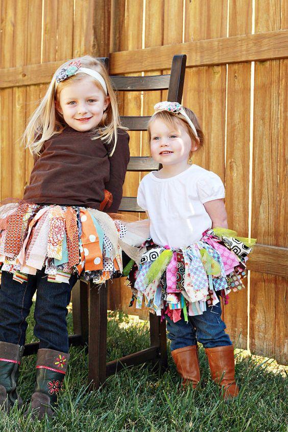 Fabric Tutu I Love Lucy 13yrs Shabby Chic by TrinketsandTutus, $30.00