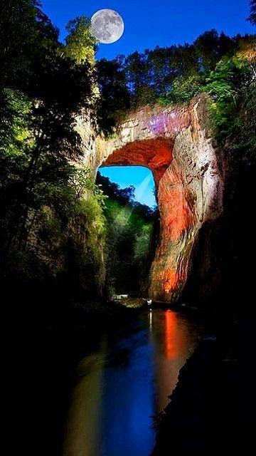 Natural Bridge - Blue Ridge Mountains, Virginia