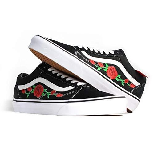 vans con rose old skool