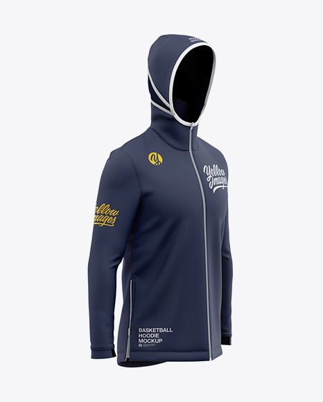 Download Basketball Full Zip Hoodie Mockup Front Half Side View Of Hooded Jacket In Apparel Mockups On Yellow Images Object Mockups Shirt Mockup Clothing Mockup Full Zip Hoodie