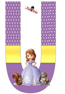 EUGENIA - KATIA ARTES - BLOG DE LETRAS PERSONALIZADAS E ALGUMAS COISINHAS: Princesa Sophia 3