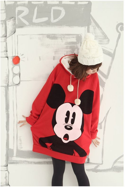 Kawaii Clothing | Sudadera Mickey Mouse / Mickey Mouse Sweater 2WH141 | Online Store Powered by Storenvy: