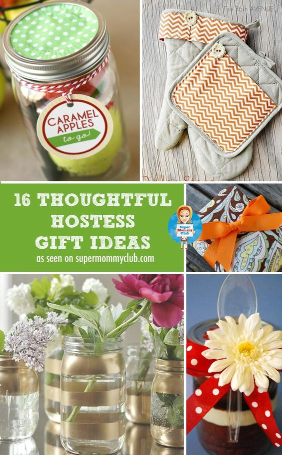 Christmas hostess gift ideas homemade gifts that will for Dinner party gift ideas